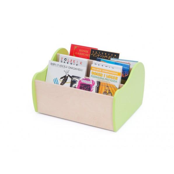 Kontenerek na książki z kółkami