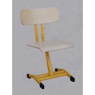 Krzesło szkolne, regulowane