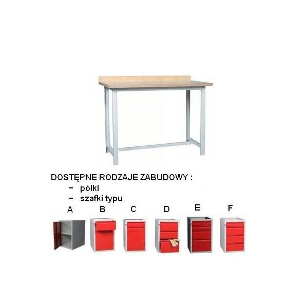 Stół warsztatowy blat ocynkowany - wys. 880mm
