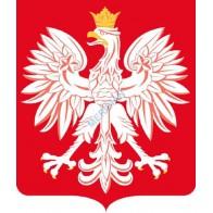 Godło Polski w oprawie