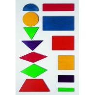 Maxi figury geometryczne - 66 figur