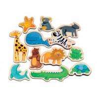 Magnetyczne zabawy - Zwierzęta