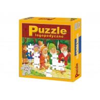 Puzzle logopedyczne.Wacek,Dzidek,Anastazy