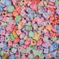 Pastelowe koraliki - 100 g