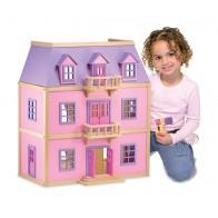 Różowy domek dla lalek