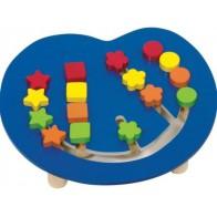 Logiczny labirynt - układam kolory i kształty
