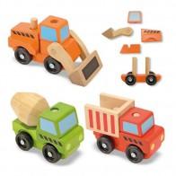 Składam pojazdy budowlane - 3 sztuki