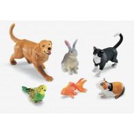 Wielkie figurki - zwierzęta domowe