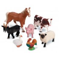 Wielkie figurki - zwierzęta gospodarskie