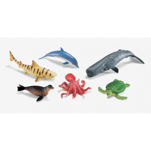 Wielkie figurki - zwierzęta oceanów
