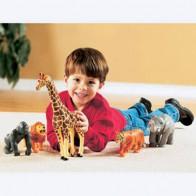Wielkie figurki - zwierzęta egzotyczne