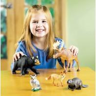 Wielkie figurki - zwierzęta leśne