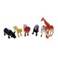 Średnie figurki - zwierzęta w zoo