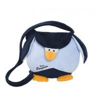 Pingwin - torebka okrągła na ramię