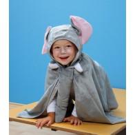 Komplet 4 kostiumów - zwierzęta dzikie