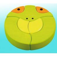 Klockowa układanka - żabcia