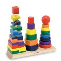 Potrójna piramidka kształtów