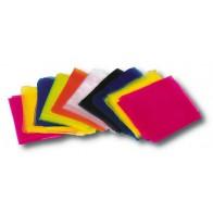 Zwiewne chusty 40 x 40 cm - 10 sztuk w 10 kolorach