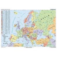 Mapa polityczna Europy (stan na 2014)