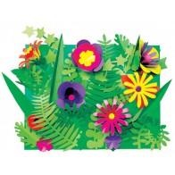 Botaniczne wycinanki - 96 liści i 114 kwiatów