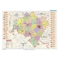 Województwo dolnośląskie - mapa administracyjna