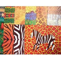 Kolorowy papier - zwierzęta, 40 arkuszy