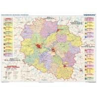 Województwo kujawsko-pomorskie - mapa administracyjna