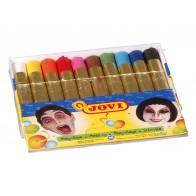 Szminka do malowania twarzy, 10 kolorów