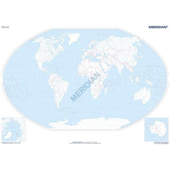 Mapa Konturowa Swiata