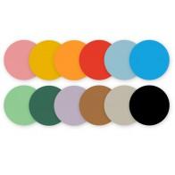 Kółka do origami 20 mm - 500 sztuk - mix 20 kolorów