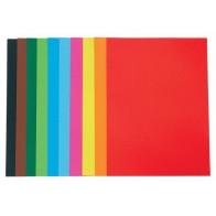 Papier techniczny 130 g - A4 - 10 kolorów - 20 arkuszy