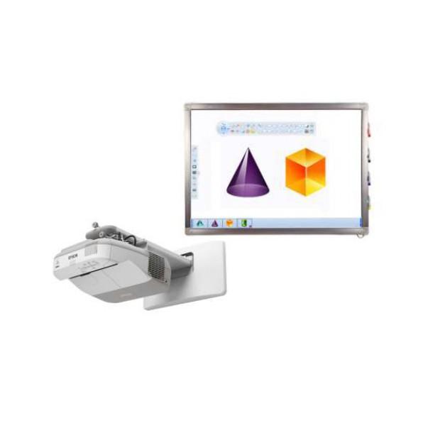 Projektor EPSON EB-470 i tablica iBoard 82