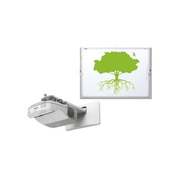 Projektor EPSON EB-470 i tablica IP Board 85 DP