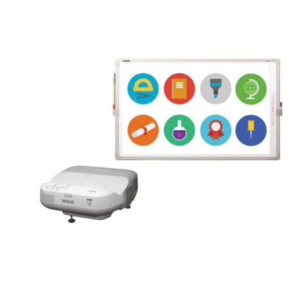 Projektor EPSON EB - 475W i tablica interaktywna IPBoard DP