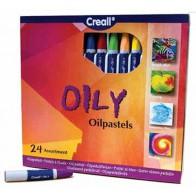 Pastele olejne Creall - 24 kolory