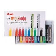 Pastele olejne Pentel - 12 kolorów