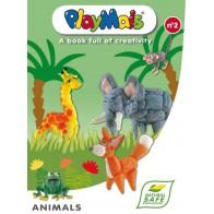 PlayMais książka - Zwierzęta