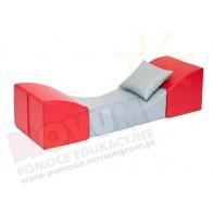 Sofka komfort czerwona