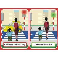 Bezpieczne dziecko - plansze i karty pracy