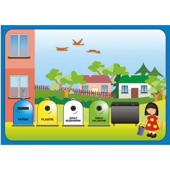 Sprzątanie świata - recykling - plansze i karty pracy