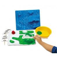 Forma 3D - wody i lądy