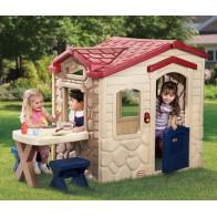 Domek z patio