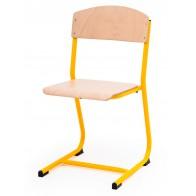 Krzesło Classic żółte 46cm
