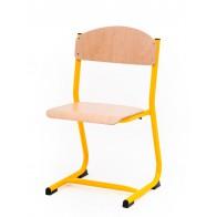 Krzesło Classic żółte 38cm