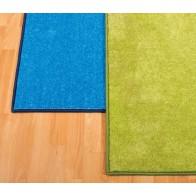 Dywan kwadrat 200 cm - jasnoniebieski
