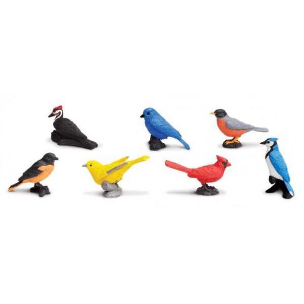 Figurki - ptaki miejskie