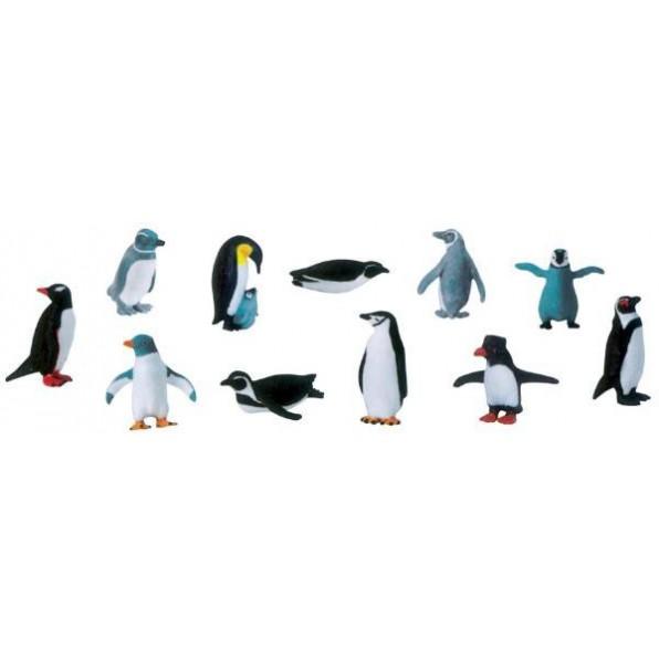 Figurki - pingwiny