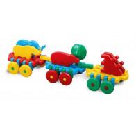 Pociąg Mario - klocki